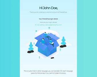 Ap Dove Professional Responsive Prestashop Email Template 2019 - Apollotheme