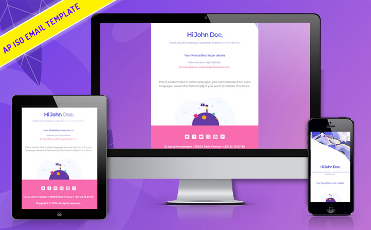 Ap Iso All-in-one Professional Email Template