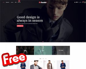 Nc-facade Free Shopify Theme Fashion