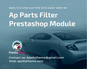 Ap Parts Filter Prestashop Module - preview
