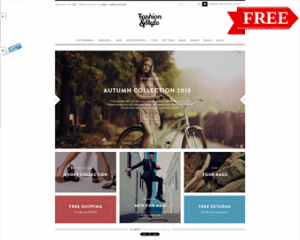 Fashion Store - Free Clothing Shopify Theme