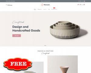 Mixmart Handmade Free Gift Shopify Theme