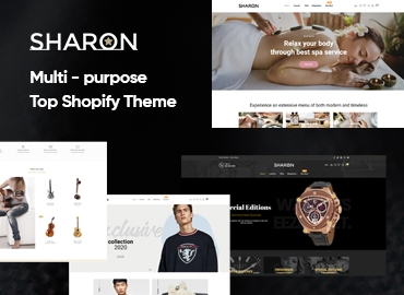 Ap Sharon - Multipurpose Shopify Theme