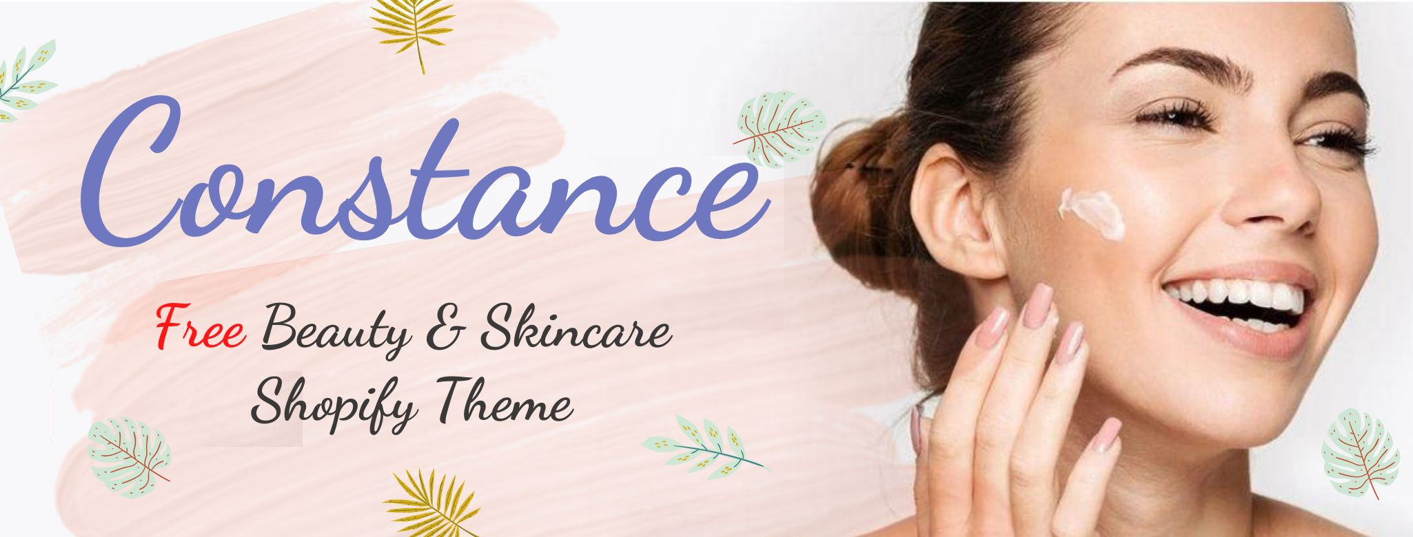 Constance- Free Beauty and skincare shopify theme