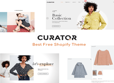 Curator Fashion Free Shopify Theme